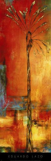 Palm Sunset I-Eduardo Lazo-Art Print