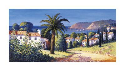 Palm Trail-David Short-Giclee Print