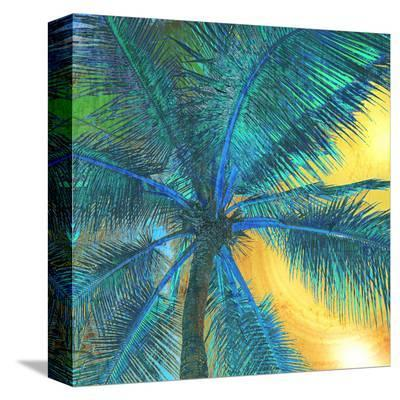 Palm Tree Sunset II--Stretched Canvas Print
