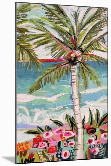 Palm Tree Wimsy II-Karen  Fields-Mounted Art Print