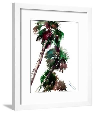 Palm Trees 4-Suren Nersisyan-Framed Art Print