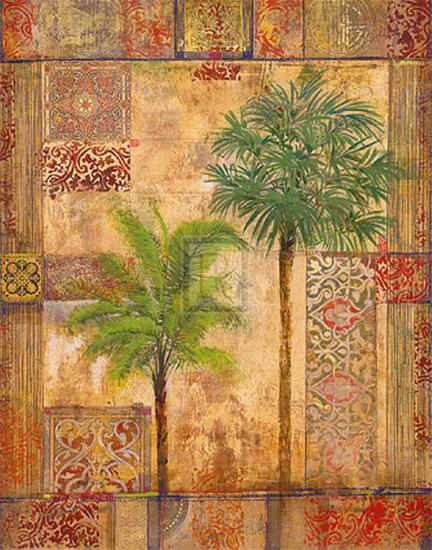 Palm Trees II-James McIntosh Patrick-Art Print