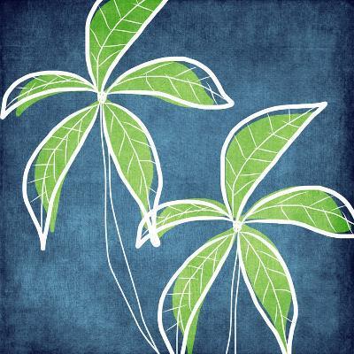 Palm Trees-Linda Woods-Art Print