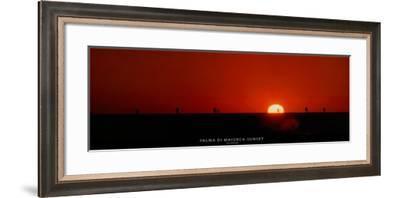 Palma di Maiorca - Sunset-Carlo Borlenghi-Framed Art Print