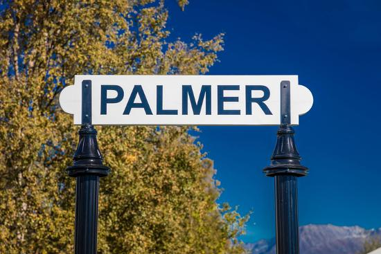 Palmer, Alaska, United States - train station--Photographic Print