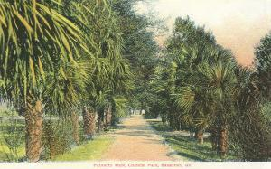 Palmetto Walk, Savannah, Georgia