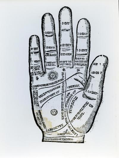 Palmistry-English School-Giclee Print