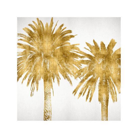 Palms In Gold IV-Kate Bennett-Giclee Print