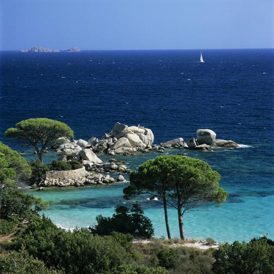Palombaggia Beach, Near Porto Vecchio, South East Corsica
