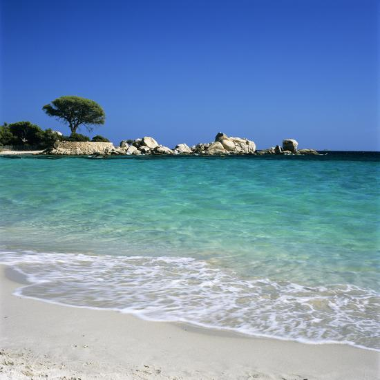 Palombaggia Beach Near Porto Vo South East Corsica France Mediterranean Europe Photographic Print By Stuart Black Art
