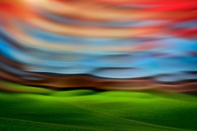 Palouse Abstract 3-Ursula Abresch-Photographic Print