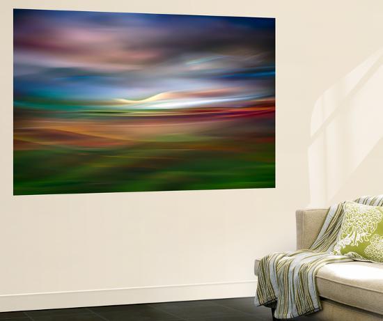 Palouse Evening Abstract-Ursula Abresch-Wall Mural