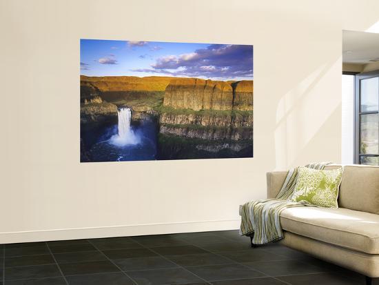 Palouse Falls State Park, Washington, USA-Chuck Haney-Wall Mural