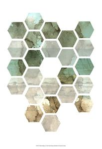 Hexocollage II by Pam Ilosky