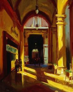 Arches in Florence by Pam Ingalls