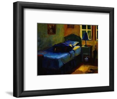Bed in Leslie's Cottage