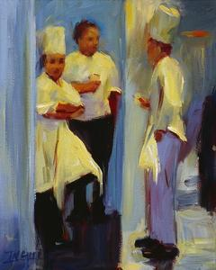 Chefs in Paris by Pam Ingalls
