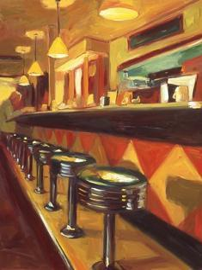 Corner Cafe by Pam Ingalls