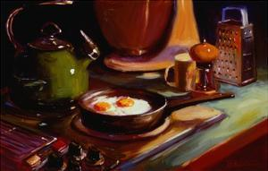 Eggs at Jan's by Pam Ingalls