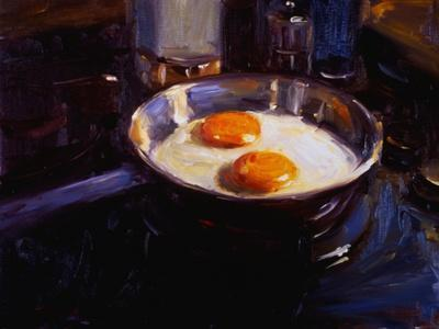 Eggs on the Gas Stove