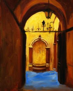 Florentine Fountain by Pam Ingalls