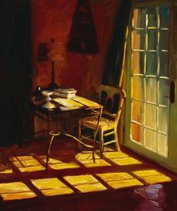 Lael's Desk by Pam Ingalls
