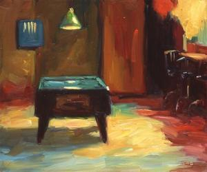 Pool Table by Pam Ingalls
