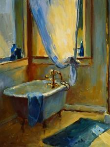 Sun in the New Bathroom by Pam Ingalls