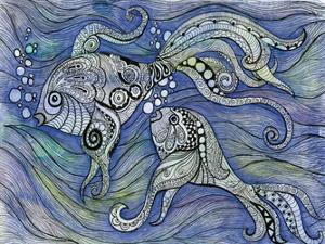 Aqua Life 2 by Pam Varacek