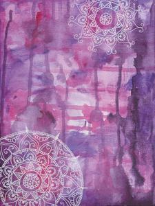 Purple Positive Vibes by Pam Varacek