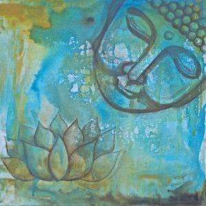 Serenity Buddha II by Pam Varacek