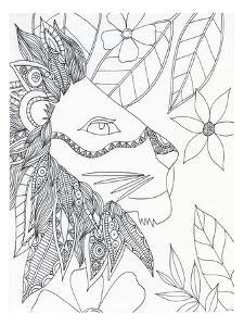 String Lion by Pam Varacek