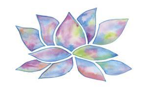 Tie Dye Lotus by Pam Varacek