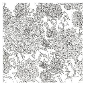 Wild Hydrangeas Less by Pam Varacek