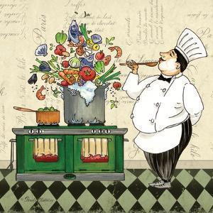 Chef Soup by Pamela Gladding