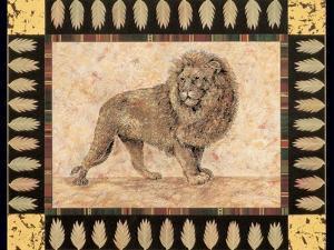 Lion by Pamela Gladding