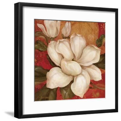 Magnolia on Red I