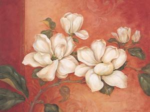 Magnolias by Pamela Gladding