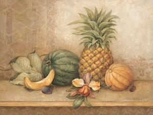 Pineapple and Orchid by Pamela Gladding