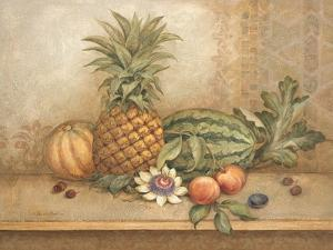 Pineapple and Passion Flower by Pamela Gladding