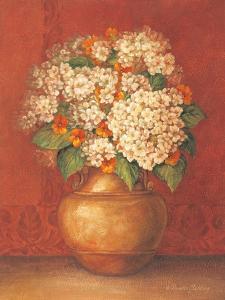 Tuscan Hydrangeas by Pamela Gladding