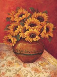 Tuscan Sunflowers II by Pamela Gladding
