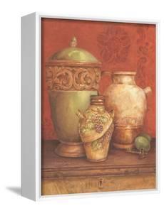 Tuscan Urns I by Pamela Gladding