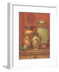 Tuscan Urns II by Pamela Gladding