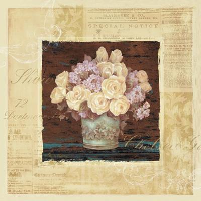 Vintage Rose Yellow by Pamela Gladding
