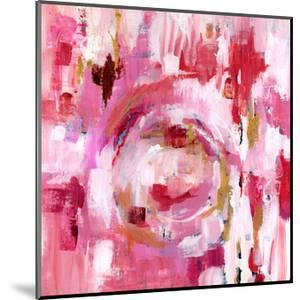 Abstract Dream Pink Gold II by Pamela J. Wingard