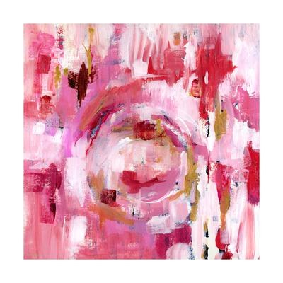 Abstract Dream Pink Gold II