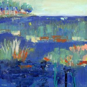 Blue Series Rest by Pamela J. Wingard