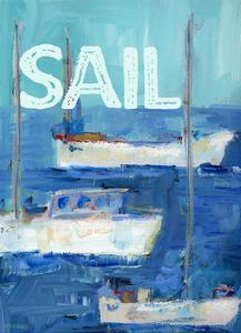 Boys Nautical Boats Sail by Pamela J. Wingard