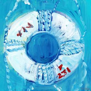Boys Nautical Life Ring by Pamela J. Wingard